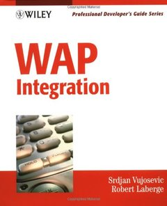 WAP Integration: Professional Developer's Guide-cover
