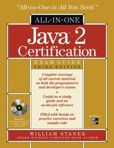 Java 2 Certification All-in-One Exam Guide, 3/e-cover