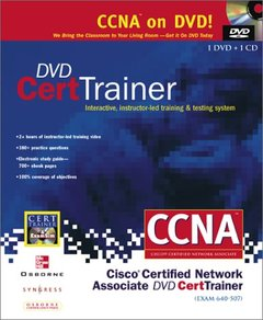 DVD Cert Trainer: Exam 640-507: Interactive, Instructor-Led Training & Testing-cover