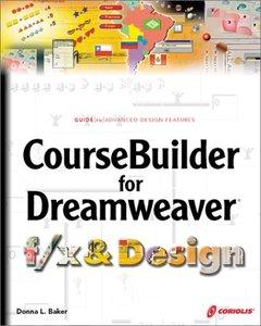 CourseBuilder for Dreamweaver f/x & Design-cover