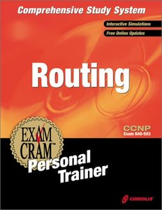 CCNP Routing Exam Cram Personal Trainer (Retail): Exam: 640-503-cover