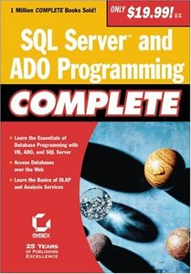 SQL Server and ADO Programming Complete-cover