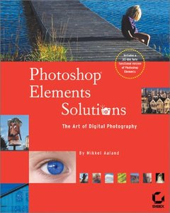 Photoshop Elements Solutions (Paperback)-cover