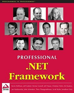 Professional .NET Framework (Paperback)-cover