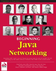 Beginning Java Networking-cover