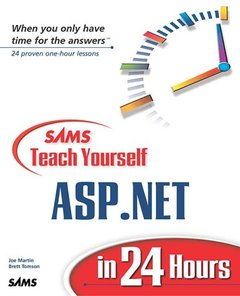 Sams Teach Yourself ASP.NET in 24 Hours (Paperback)-cover