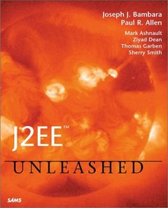 J2EE Unleashed (Paperback)-cover
