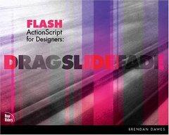 Flash ActionScript for Designers: Drag Slide Fade-cover