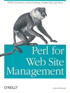 Perl for Web Site Management-cover
