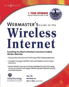 Webmaster's Guide to the Wireless Internet-cover