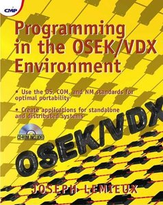 Programming in the OSEK/VDX Environment (With CD-ROM)-cover