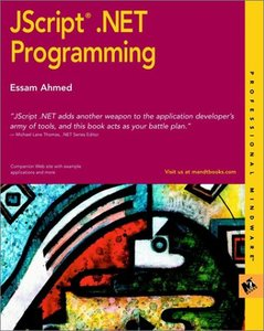 JScript .NET Programming-cover