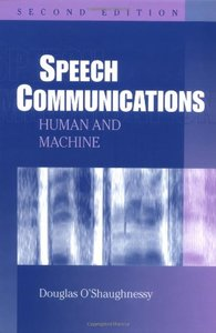 Speech Communications: Human and Machine, 2/e-cover