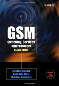 GSM Switching, Services and Protocols, 2/e-cover