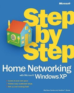 Step by Step Home Networking With Microsoft Windows XP-cover