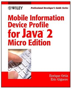 Mobile Information Device Profile for Java 2 Micro Edition (J2ME): Professional-cover