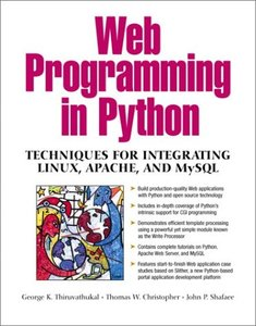 Web Programming in Python: Techniques for Integrating Linux, Apache and MySQL (Paperback)-cover