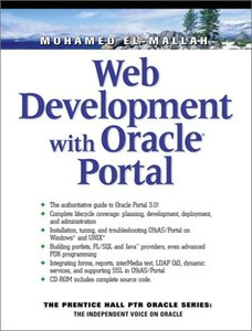 Web Development with Oracle Portals-cover