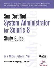 Sun Certified System Administrator for Solaris 8 Study Guide (Paperback)-cover