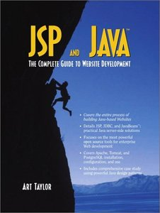 JSP and Java: The Complete Guide to Website Development-cover