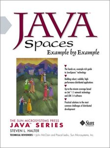 Java Spaces Example by Example (Paperback)-cover