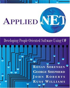 Applied .NET: Developing People-Oriented Software Using C#-cover