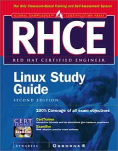 RHCE Red Hat Certified Engineer LINUX Study Guide, 2/e-cover
