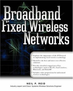 Broadband Fixed Wireless Networks-cover