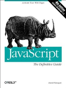 JavaScript: The Definitive Guide, 4/e-cover