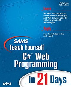 Sams Teach Yourself C# Web Programming in 21 Days-cover