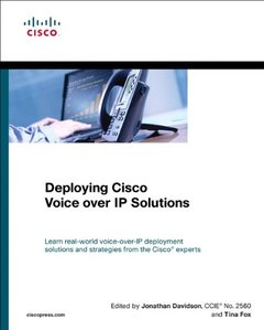 Deploying Cisco Voice Over IP Solutions-cover