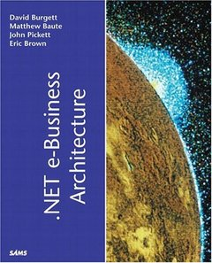 .NET e-Business Architecture-cover