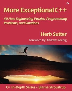 More Exceptional C++ (Paperback)-cover