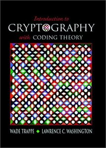 Introduction to Cryptography with Coding Theory-cover