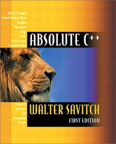 Absolute C++-cover