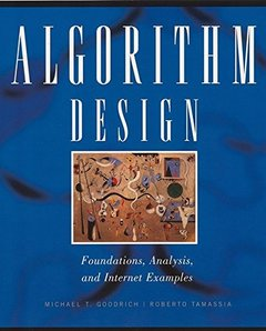 Algorithm Design: Foundations, Analysis, and Internet Examples-cover