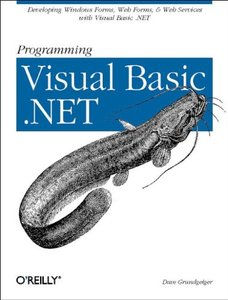 Programming Visual Basic .NET (Paperback)-cover