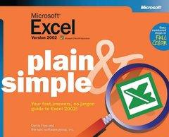 Microsoft Excel 2002 Plain & Simple-cover