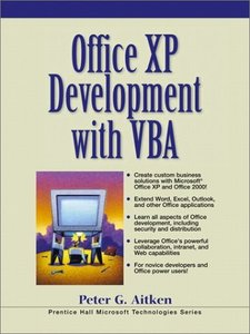 Office XP Development with VBA, 2/e-cover
