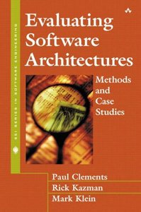 Evaluating Software Architectures: Methods and Case Studies (Hardcover)-cover