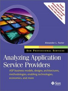 Analyzing Application Service Providers-cover