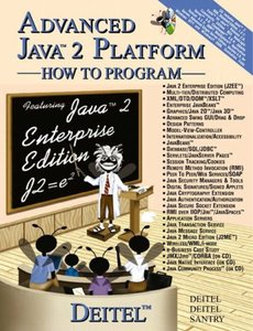 Advanced Java 2 How to Program (Paperback)-cover