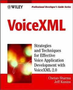 VoiceXML: Professional Developer's Guide-cover