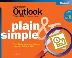 Microsoft Outlook Version 2002 Plain & Simple-cover