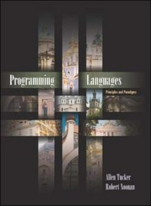 Programming Languages: Principles and Paradigms-cover