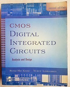 CMOS Digital Integrated Circuits Analysis & Design-cover