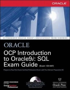 OCP Introduction to Oracle9i: SQL Exam Guide-cover