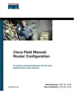 Cisco Field Manual: Router Configuration (Paperback)-cover
