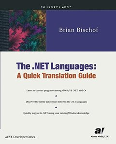 The .NET Languages-cover