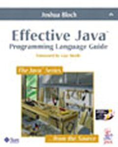 Effective Java Programming Language Guide with Java Class Libraries Posters-cover